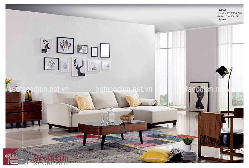 Bộ bàn ghế sofa phòng khách nhỏ xinh s