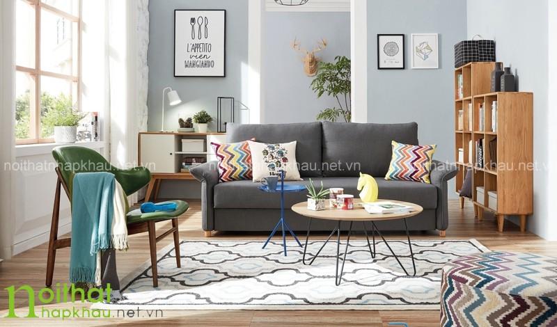Bộ bàn ghế sofa phòng khách nhỏ xinh sẽ giúp căn phòng gọn gàng, thoáng đãng hơn