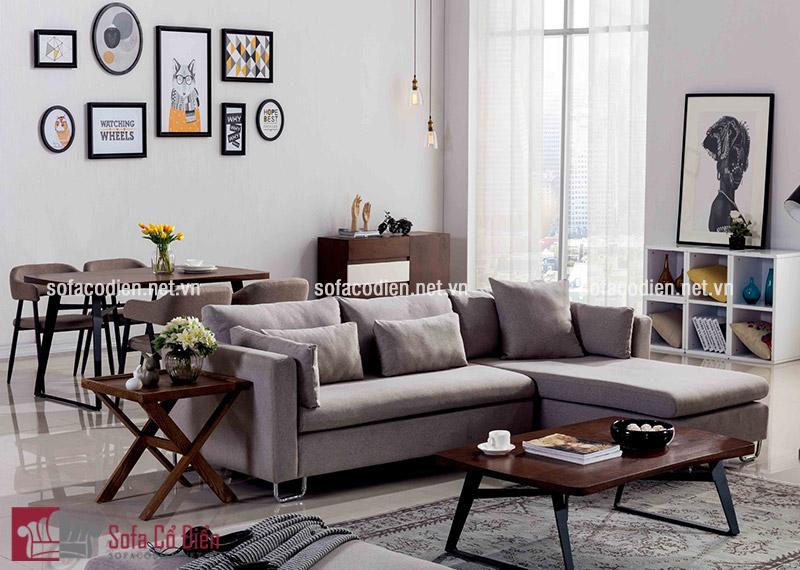 Gia chủ cần chú ý tới tính đối xứng khi bài trí nội thất phòng khách đẹp
