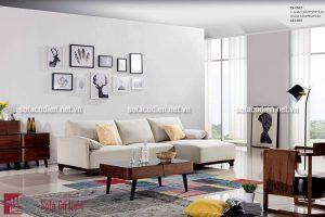Ghế sofa góc- Sự lựa chọn thông minh cho phòng khách chung cư