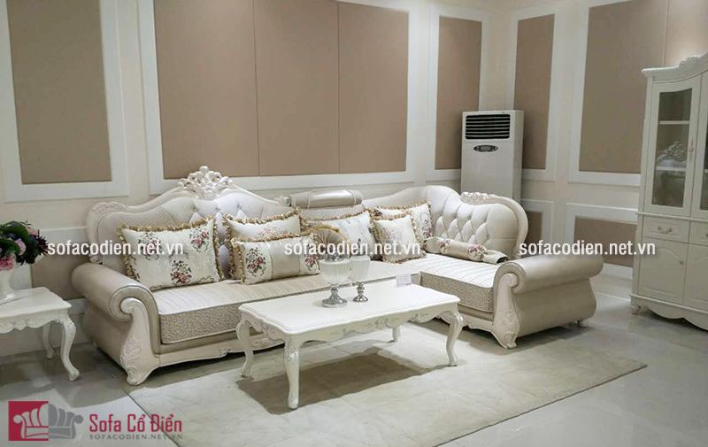 Sofa phong cách cổ điển Hoàng Gia