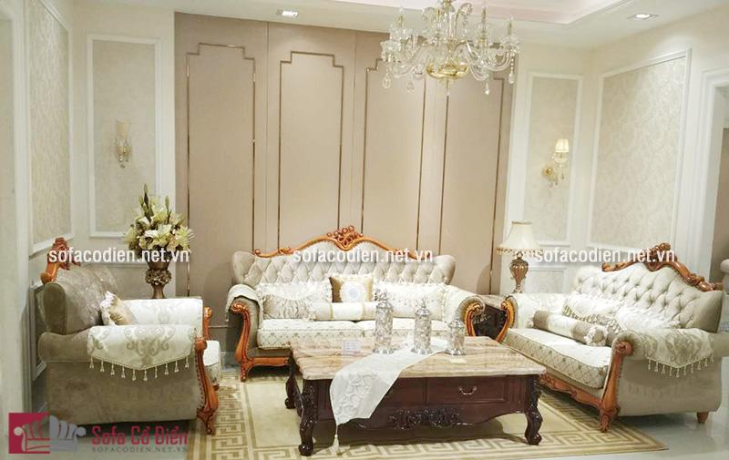 Sofa phong cách cổ điển Pháp