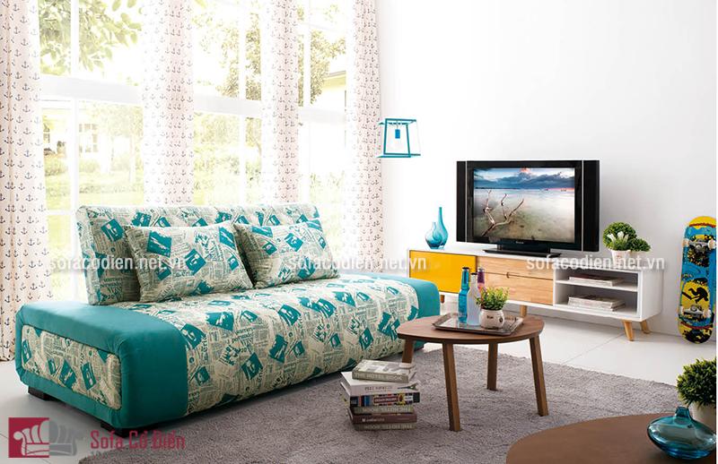 Sofa giường thiết kế thông minh dành cho phòng khách diện tích nhỏ