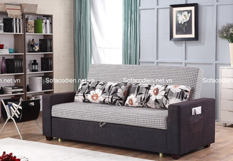 Ghế sofa giường đa năng là lựa chọn hoàn hảo cho phòng khách