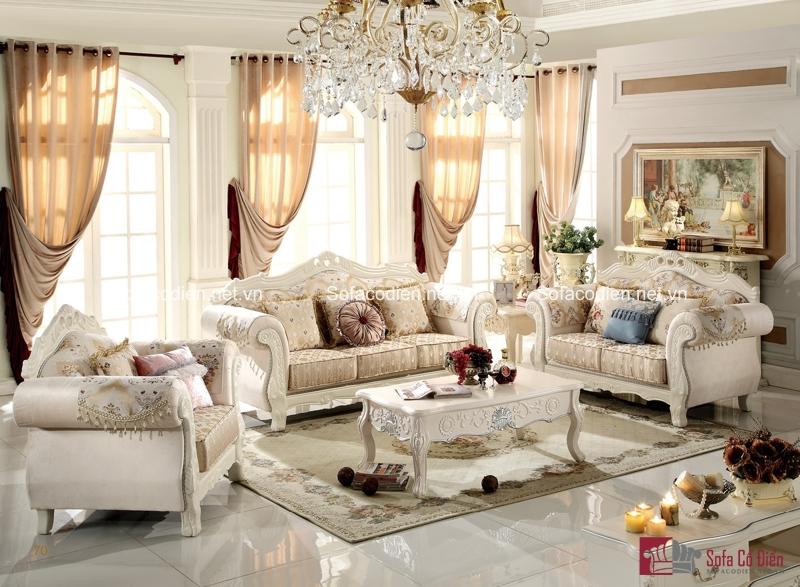 Một trong những bộ ghế sofa cổ điển được yêu thích nhất tại Funika