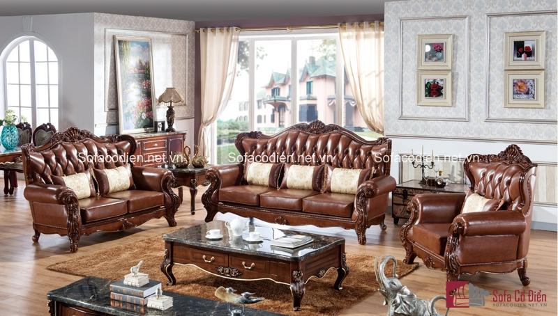 Cao thủ luôn xuất hiện vào tập cuối, và đây chính là chiếc ghế sofa cổ điển chất liệu da bò đẳng cấp thứ thiệt