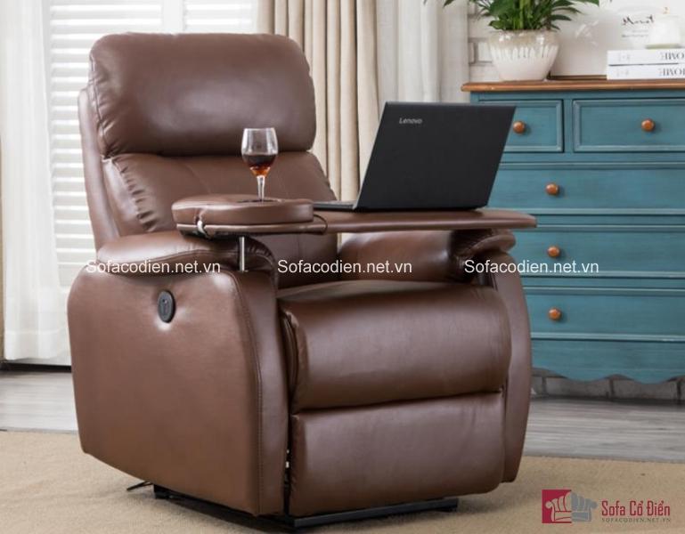 Hay bạn có thể chọn chiếc ghế này, tích hợp bàn làm việc luôn