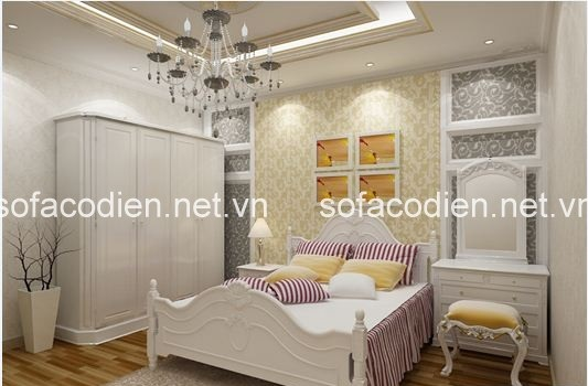 giường ngủ hiện đại cho phòng ngủ nhỏ