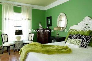 Trang trí nhà với gam màu xanh tươi mát