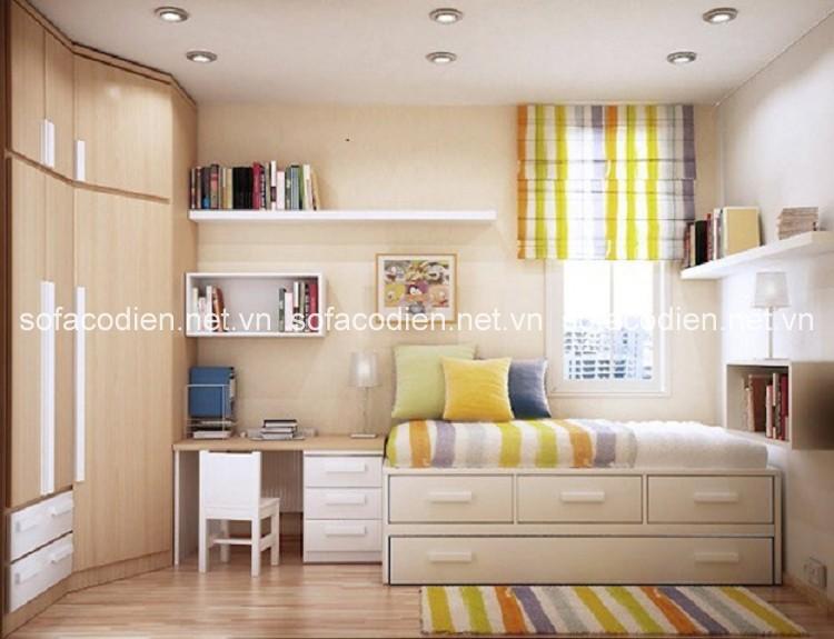 10 mẹo hữu ích cho phòng ngủ nhỏ của bạn thểm rộng hơn