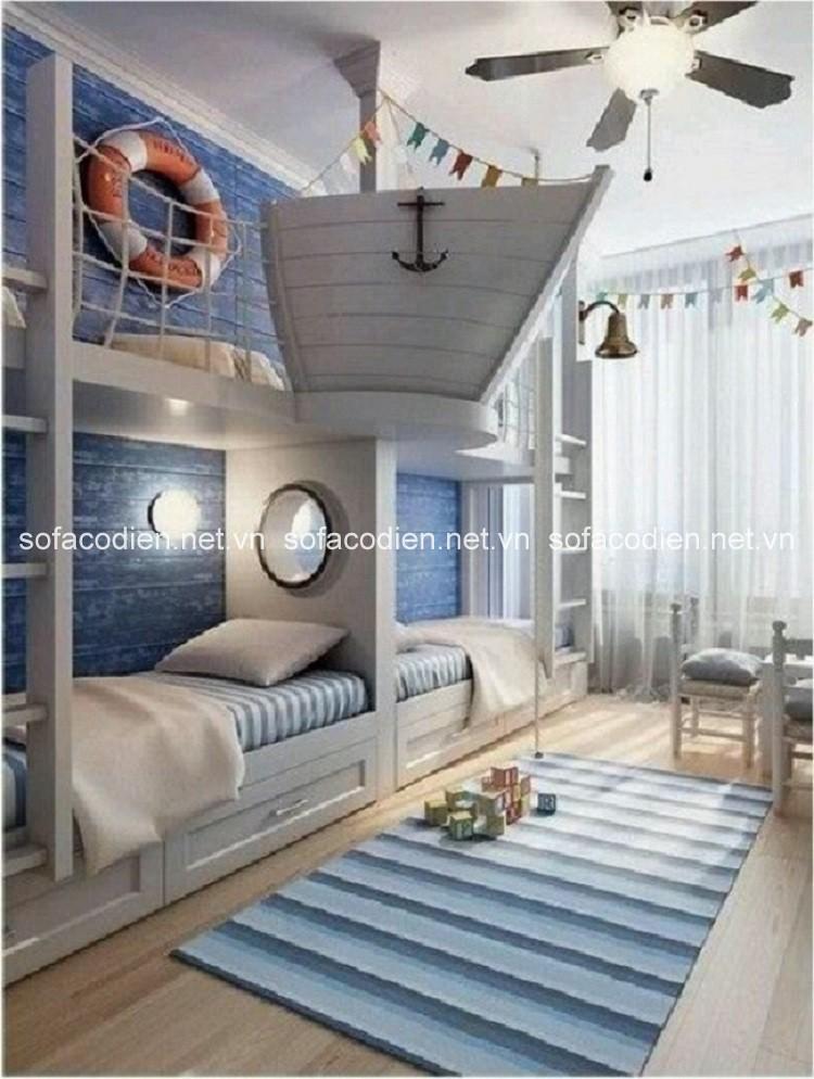 Thiết kế phòng ngủ chung hoàn hảo cho các bé yêu