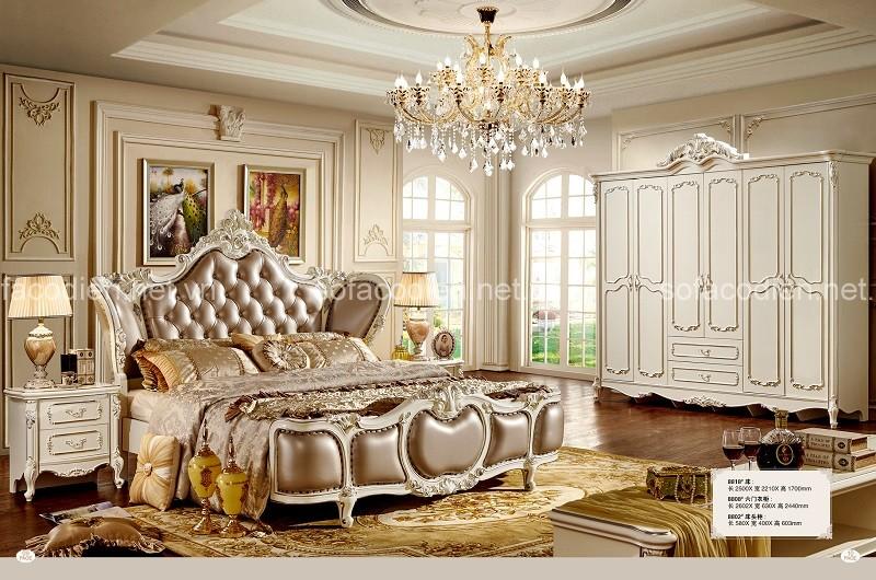 Giường ngủ tân cổ điển sang trọng cho tầng lớp thượng lưu