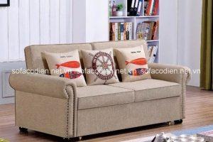 Chọn ghế sofa chất liệu nỉ cho mùa đông sắp tới