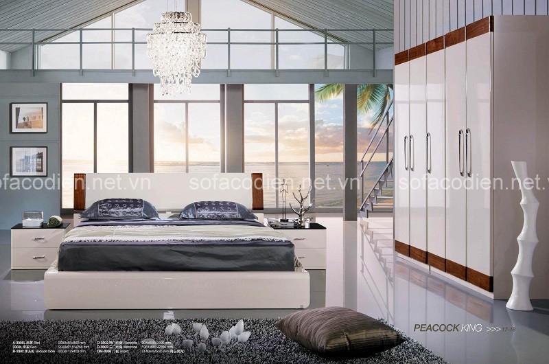 Những thiết kế nội thất phòng ngủ hiện đại có không gian rộng