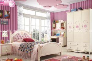 Phòng ngủ đẹp diệu kỳ khi trang trí giấy dán tường